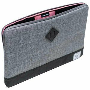 New Herschel Co. Anchor Designer 15.6'' Macbook Air Pro / Laptop Sleeve - Raven